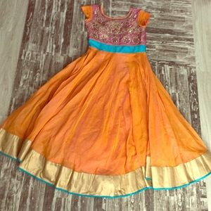 Dresses & Skirts - Indian dress : Side zip w/ intricate detail